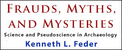 دانلود کتاب  Frauds, Myths, and Mysteries : Science and Pseudoscience in Archaeology