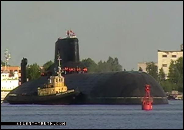 زیردریایی روسیه به نام دمیتری دونسکای