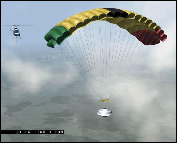 شبیه سازی عملیات فرود توسط ناسا
