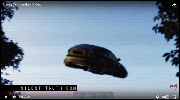 بخشهایی از ویدئو ماشین پرنده از ساخته های تسریباس و گروهش