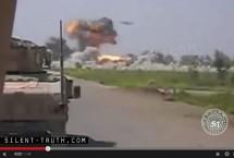UFO_attacks_Taliban_or_ISIS_camp_Image_1